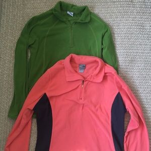 Columbia & Champion Fleeces (Package deal)